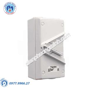 Ngắt điện phòng thấm nước Isolator 1P 35A 250V IP66 - Model WHS35_GY