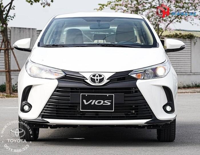 Đầu xe Toyota Vios E CVT số tự động 2021