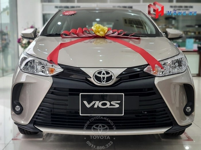 Đầu xe Toyota Vios E MT số sàn 2021