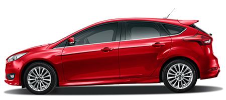 Ford Focus phiên bản màu đỏ ruby