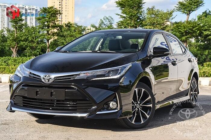Ngoại thất xe Toyota Corolla Altis 1.8G 2021