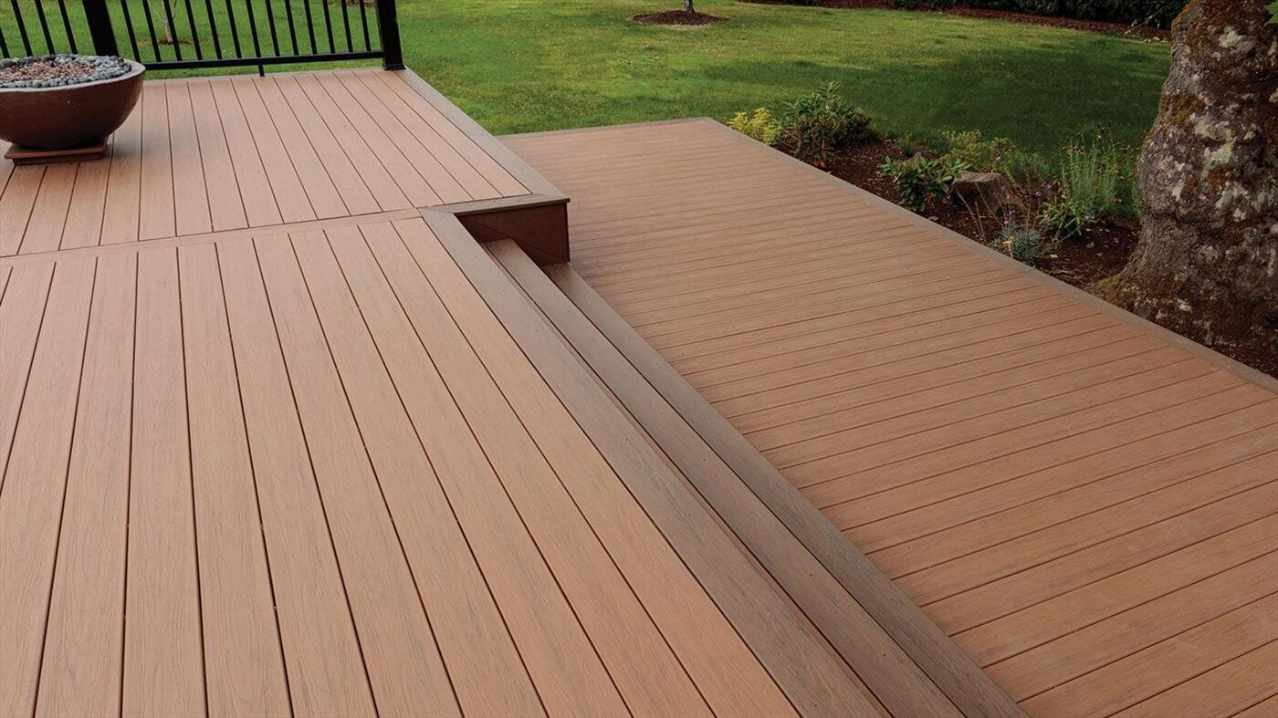 Sử dụngsàn gỗ nhựa compositelót sàn bể bơi mang lại một phong cách mới mẽ, sang trọng