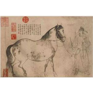 'Ngũ Mã Đồ' – đỉnh cao của phong cách tranh bạch miêu Lý Công Lân