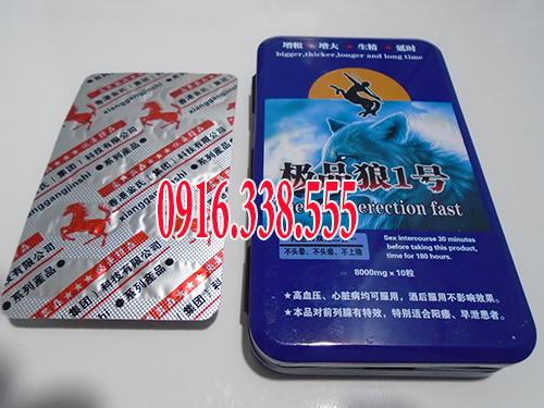 Thuốc cường dương Ngựa Hoang hongkong 8000mg