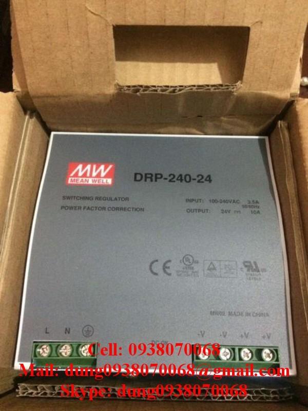 Nguồn MEANWELL DRP-240-24