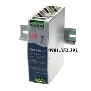 Nguồn Meanwell SDR-120-12
