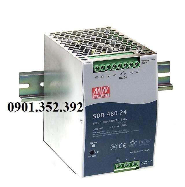 Nguồn Meanwell SDR-480P-48