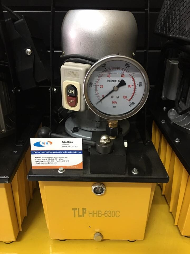 Máy bơm điện thủy lực TLP HHB-630A , HHB-630C