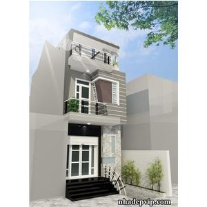 Nhà phố 1 trệt 1 lầu nhà Anh Minh