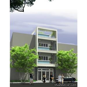 Nhà phố 1 trệt 2 lầu anh Lâm Bình Phước