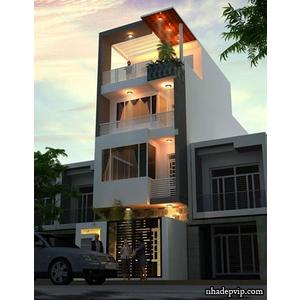 Nhà phố 1 trệt 2 lầu anh Phước Tiền Giang