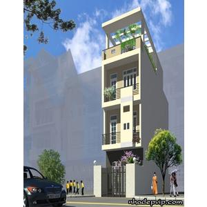 Nhà phố 1 trệt 2 lầu anh Thịnh Lãnh Binh Thăng Quận 6