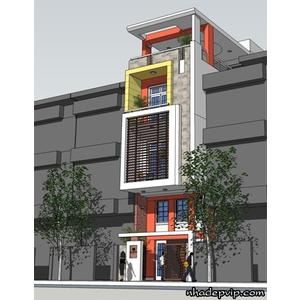 Nhà phố 1 trệt 2 lầu anh Thuận đường 3/2, quận 10