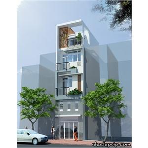Nhà phố 1 trệt 2 lầu chị Hảo đường Lũy Bán Bích, Tân Phú