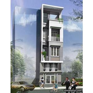 Nhà phố 1 trệt 3 lầu anh Thương Võ Văn Tần, Quận 3