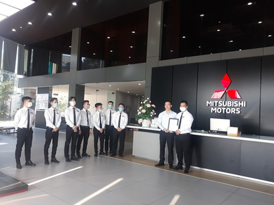 Nhân viên bán hàng xuất sắc Quý III/2021 tại Mitsubishi Ninh Bình