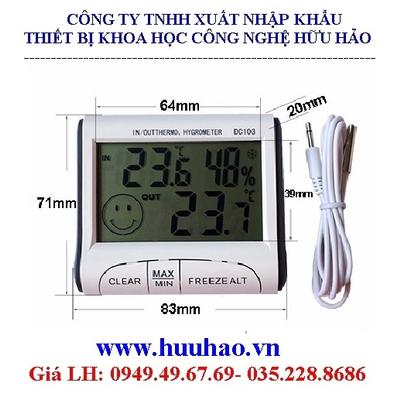 Nhiệt ẩm kế điện tử DC103