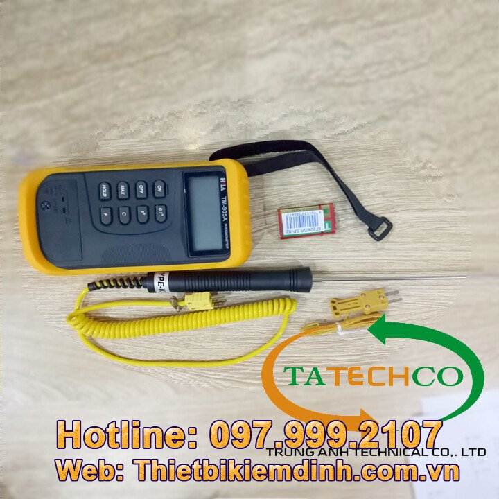 Nhiệt kế điện tử - Nhiệt kế đo nhiệt độ bê tông
