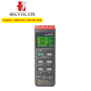 Nhiệt kế điện tử 2 kênh đo TC301 - Dostmann