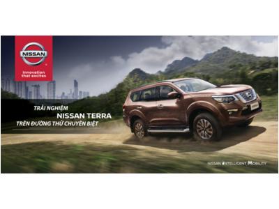 """Nissan Việt Nam tổ chức chương trình trải nghiệm mẫu xe Nissan Terra hoàn toàn mới với tên gọi: """"Chuyển động thông minh cùng Nissan Terra"""""""
