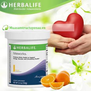 Niteworks herbalife hỗ trợ tim mạch huyết áp - giải Noben 1998