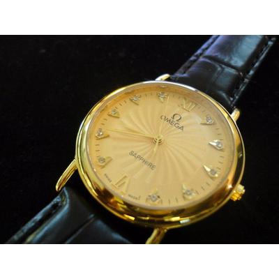 Đồng hồ nam dây da Omega No550a