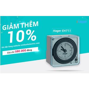 Nơi bán công tắc hẹn giờ Timer Hager EH711 giá rẻ tại Bình Phước