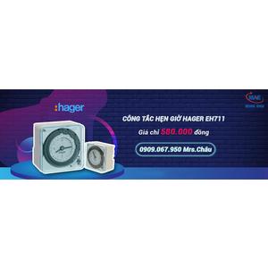 Nơi bán công tắc hẹn giờ Timer Hager EH711 giá rẻ tại Đồng Nai