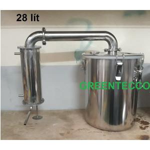 Nồi chưng cất 28 lít đa năng tinh dầu nước hoa hồng