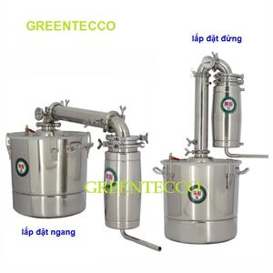 Nồi chưng cất tinh dầu bằng hơi nước 30 lit NiangGe