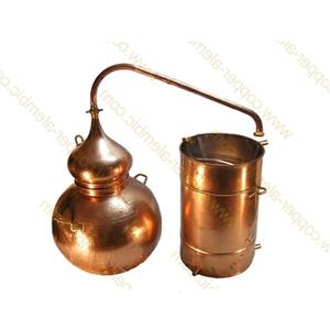 Nồi chưng cất tinh dầu bằng hơi nước 450 lit chất liệu đồng - Bồ Đào Nha