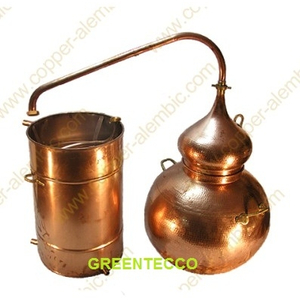 Nồi chưng cất tinh dầu bằng hơi nước 500 lit chất liệu đồng - Bồ Đào Nha