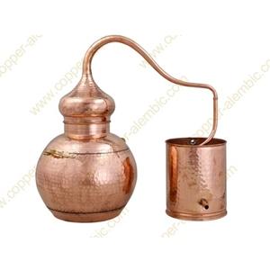 Nồi chưng cất tinh dầu bằng hơi nước 60 lit chất liệu đồng - Bồ Đào Nha