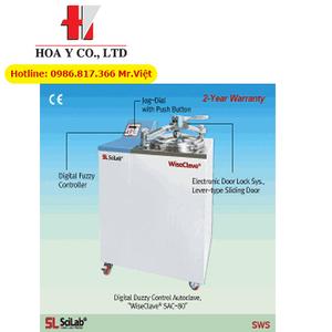 Nối hấp tiệt trùng 100 Lít SAC-100 Scilab Hàn Quốc