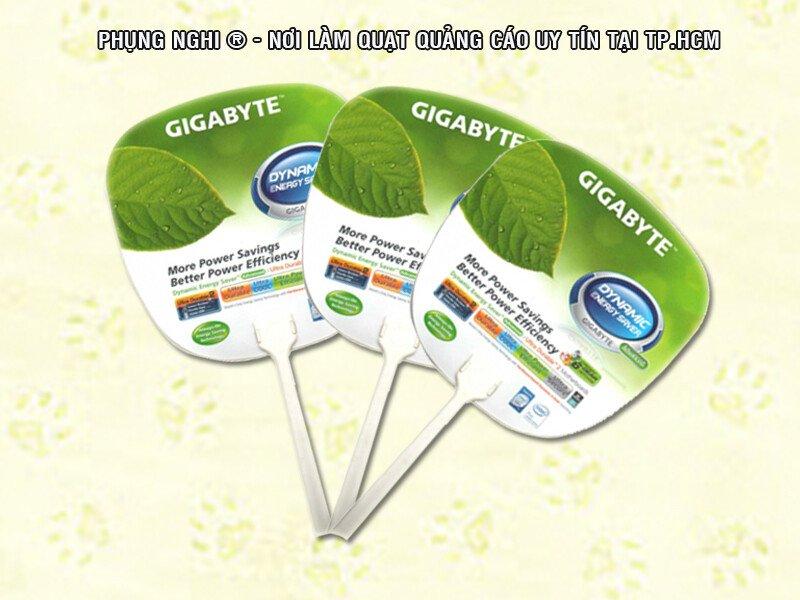 Quạt nhựa quảng cáo, nan quạt và cán quạt nhựa giá rẻ - Phụng Nghi