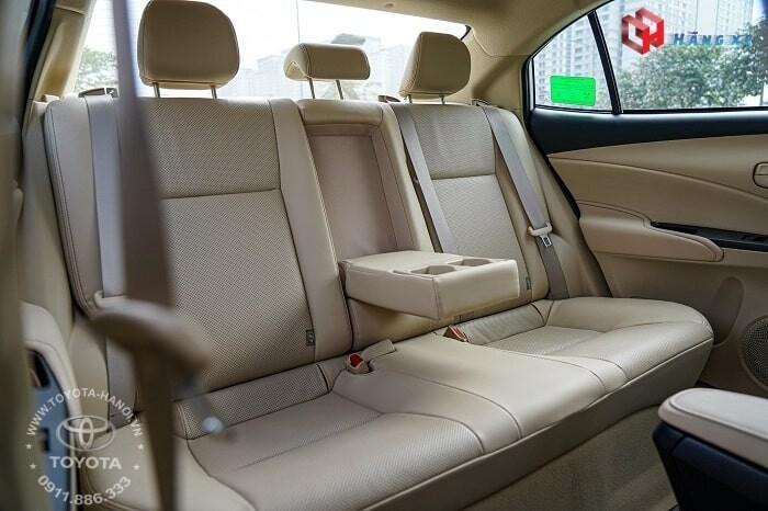 Hàng ghế sau xe Vios E cvt 2021