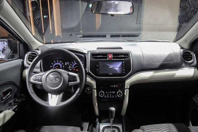Nội thất xe Toyota Rush 2021