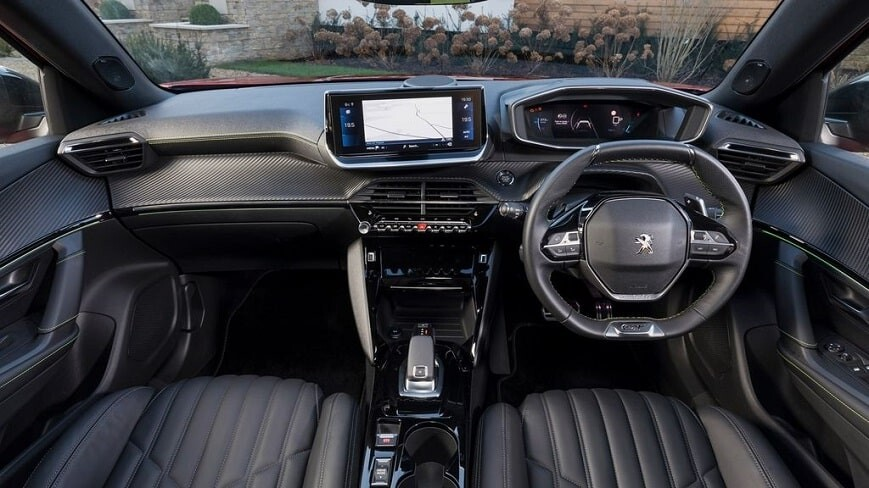 Nội thất xe Peugeot 2008 mới