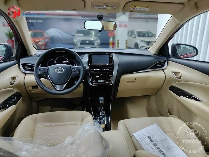 Nội thất xe Toyota Vios G 2021