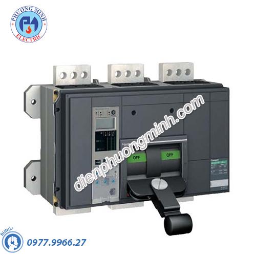 MCCB Compact NS fixed type manually operated 3P 1600A 85kA 415V - Model NS16BH3M2