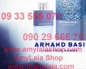 Nước hoa nam ARMAND BASI L'EAU POUR HOME Eau De Toilette 75ml (Made in Spain) - 0933555070 :