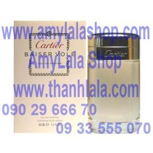 Nước hoa Nam CARTIER BAISER VOLE Eau De Parfum 100ml (Made in France) - 0933555070 - 0902966670 :