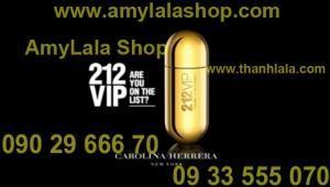 Nước hoa Unisex 212 VIP (Made in Spain) - 0933555070 - 0902966670 :