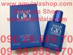 Nước hoa Unisex Giorgio Armani ACQUA DI GIO POUR HOME 15ml (Made in France) - 0933555070 :