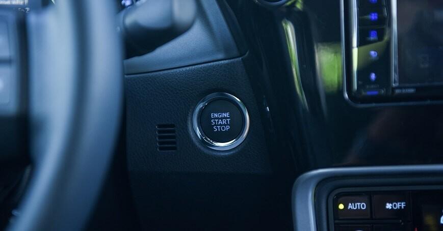 Nút khởi động Start Stop xe Corolla Altis 1.8E CVT