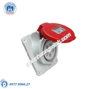 Ổ cắm âm dạng nghiêng 4P+E 400V 32A - Model PKF32F435