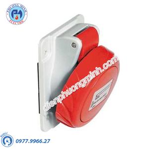 Ổ cắm âm dạng nghiêng 4P+E 400V 32A - Model PKF32F735