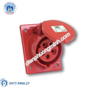 Ổ cắm âm nghiêng 32A 5P 6H, IP67 - Model F4252-6F78