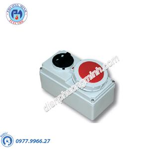 Ổ cắm công nghiệp kèm công tắc loại kín nước - Model F61132-6
