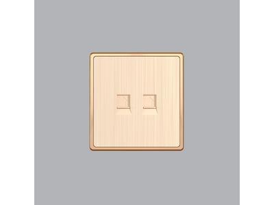 Ổ Cắm Điện Thoại + Mạng LAN S7TEL/LAN